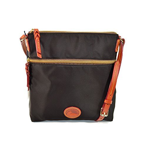 Dooney Designer Handbags (Dooney & Bourke Nylon Crossbody Black BNYLN3264)