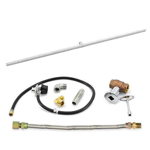 Lakeview Outdoor Designs Stainless Steel 48-Inch Propane T-Style Burner W/Connection Kit