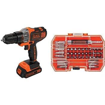 Amazon.com: BLACK+DECKER 20V MAX Cordless Drill / Driver, 3 ...