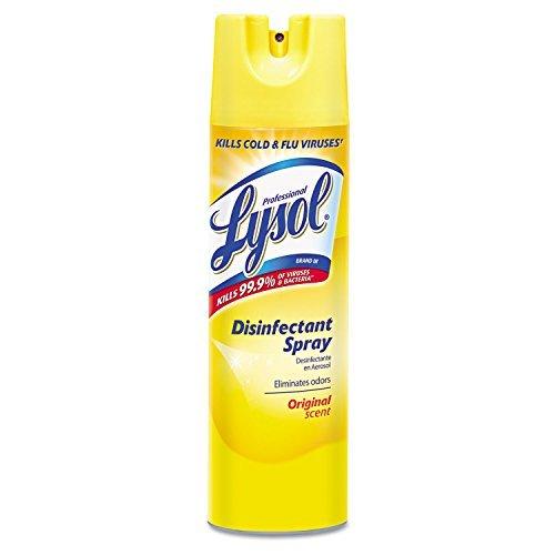 Professional Lysol 04650EA Lysol Disinfectant Spray, 19 oz, Original Scent