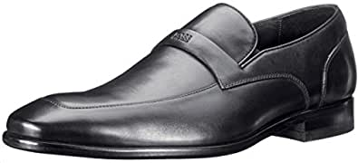 BOSS Black by Hugo Boss Men's Metero Slip-On,Black,12.5 M US