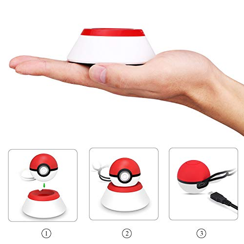 MoKo Charging Stand for Nintendo Switch Poke Ball Plus Controller, Charger  Station Holder Charging Dock Mount with Charging Cable for Nintendo Switch