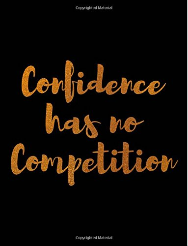 Download Confidence Has No Competition Wide Rule Notebook PDF