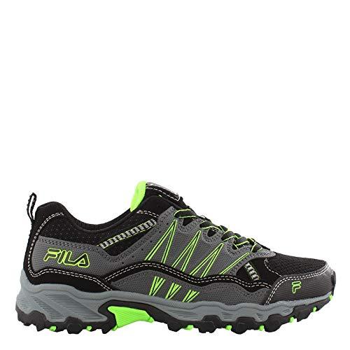 Fila Boy's, at Peake 21 Trail Running Sneaker - Big Kid Castlerock 4 M