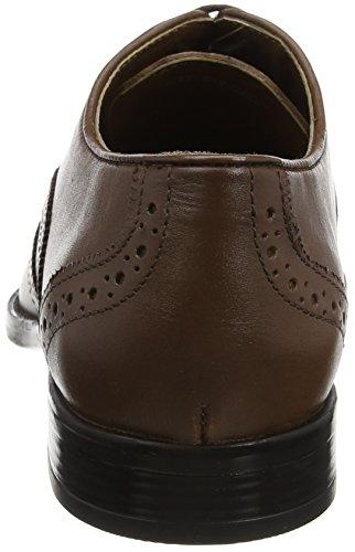 Brown Lth Brouge Leather Uomo Stringate Scarpe Marrone Bishop Brn Lotus CHqzYY