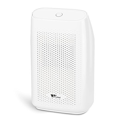 amzdeal Dehumidifier for Home Small Dehumidifier Mini Electrical Quiet 700ml (24fl.oz) Capacity Suitable for Bedroom Basement Bathroom(1200 Cubic Feet or 215 sq ft) Auto Off to Remove Damp, Moisture by amzdeal (Image #6)