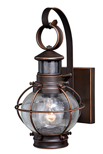 """Vaxcel Chatham Dualux 7"""" Outdoor Wall Light Burnished Bronze from Vaxcel"""