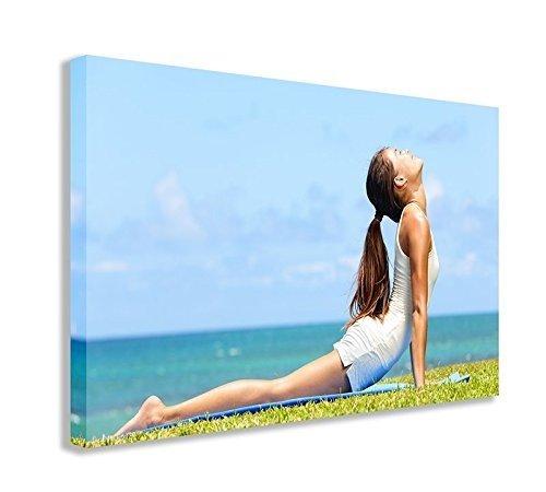 Yoga girl lienzo (30