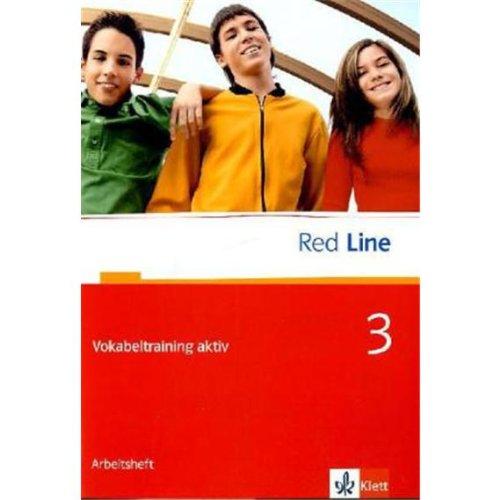 Red Line 3: Vokabeltraining aktiv Klasse 7 (Red Line. Ausgabe ab 2006)