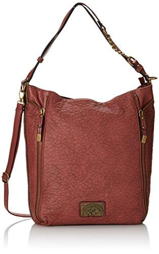 Le Temps Des Cerises Bonnie 4 - Bolso Mujer Rouge (Terracotta 8i20)