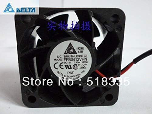 for delta FFB0412VHN 4CM 404028MM 4028 12V 0.45A 2 wire Server Inverter Cooling fan