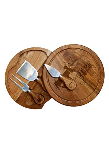 Ratatouille Kitchen - Disney/Pixar Ratatouille Delio Cutting Board and Cheese Tools Serving Set, by Picnic Time