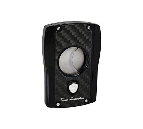 Tonino Lamborghini Aldebaran Matte Carbon Fiber Cigar Cutter, Black (Tonino Lamborghini Cutter)