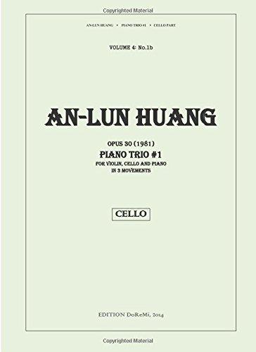 Piano Trio No.1, Op. 30 (1981) for Violin, Cello and Piano in 3 Movements: Cello part (No.1b) (Volume 4) pdf epub