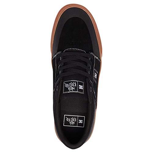 Dc Uomo Kremer Espadrillas Wes Schwarz Basse gum Shoes rn7H6r