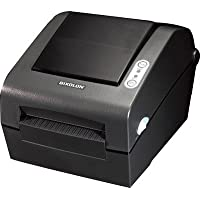 Bixolon SLP-D420EG Direct Thermal Label PRINTER with Power Supply, 4 Size, 203 Dpi, Serial/Ethernet/USB, black