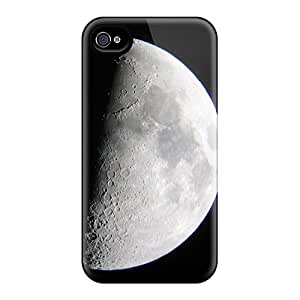 WykXnQP7992urKim Tpu Phone Case With Fashionable Look For Iphone 4/4s - Moon