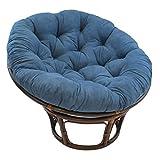 Blazing Needles Solid Microsuede Papasan Chair Cushion, 44