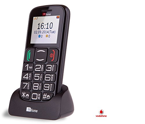 TTfone Mercury 2 (TT200)  Vodafone Pay As You Go - Prepay - PAYG - Big...