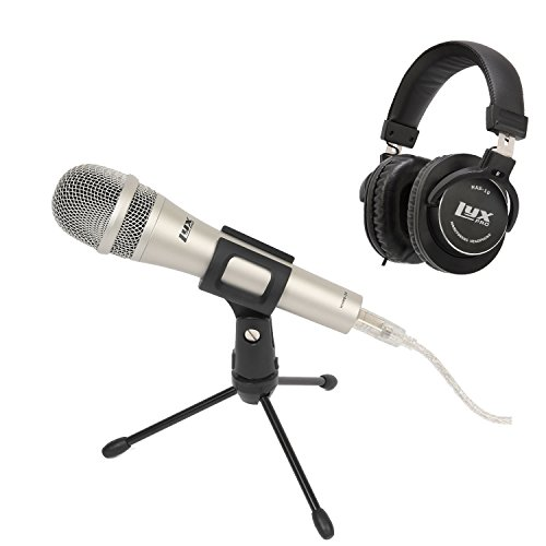 Equipment Calling - LyxPro USB Microphone with Headphone - Great for Podcasting, Skype Calling, Internet chatting