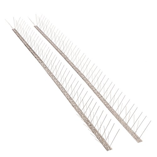 Cheap  Bird Blinder Stainless Steel Bird Spikes for Pigeons and other Small Birds..