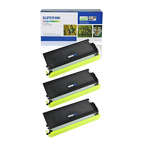 - SuperInk 3 Pack Replacement Compatible Brother TN460 TN430 Black Toner Cartridge High Yield for DCP-1200 DCP-1400 HL-1230 HL-1240 MFC-1260 MFC-1270 Intellifax 4100 Printer