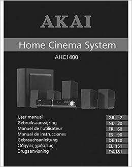 akai home theater manual