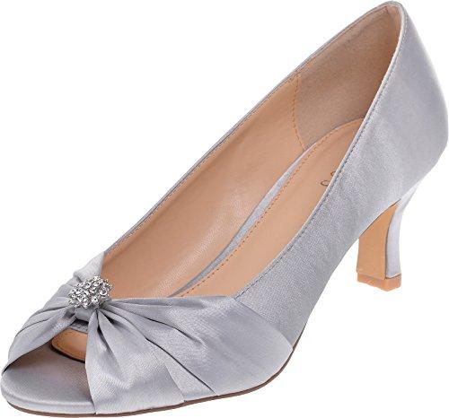 LEXUS - Zapatos con tacón mujer Gris - gris