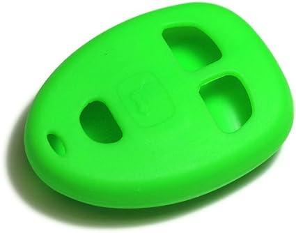 dantegts Verde Llavero de silicona Smart Remote Carteras clave de protección para de la cadena: Buick Lucerne 07–10W/O Inicio a distancia