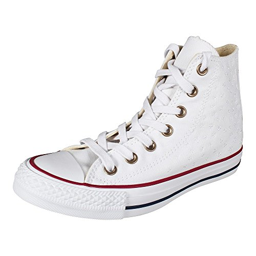 Rose Converse Barely White Rose Hautes 653 Femme CTAS Tan Baskets Hi Tan Beige White Barely OBBwtErqx