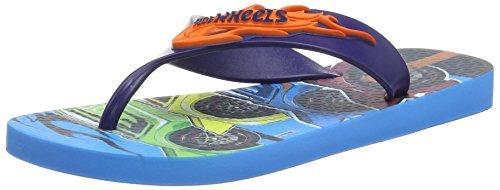 Ipanema Hot Wheels Tyres, Sandalias Flip-Flop para Hombre Azul - azul (Blue)