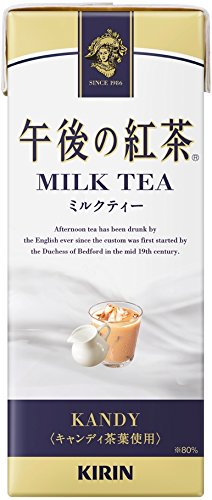 250mlX24 this Kirin afternoon tea milk tea by Afternoon tea