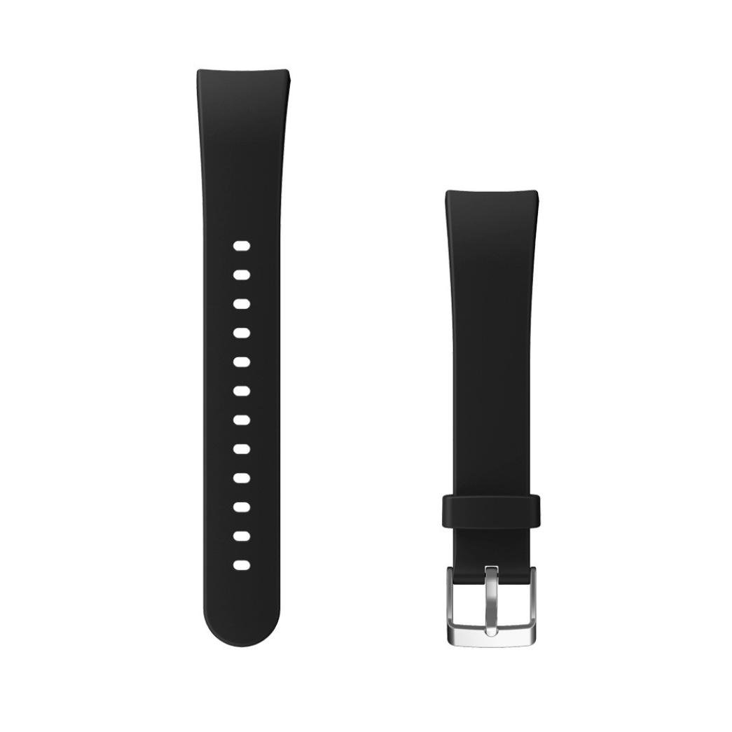 SUKEQ For V10 Bands, 2018 New Quick Release Adjustable Replacement Strap Fashion Soft Silicone Sports Watch Band Wristband Accessories For V10 Fitness Smartwatch (black)