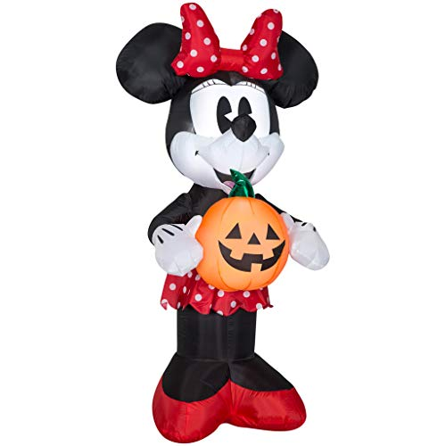 Minnie Mouse Inflatable - Halloween Inflatable 5' Minnie Mouse Holding