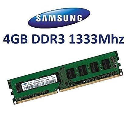 Samsung - Tarjeta de memoria de 4 GB (DDR3-1333, 1333Mhz ...