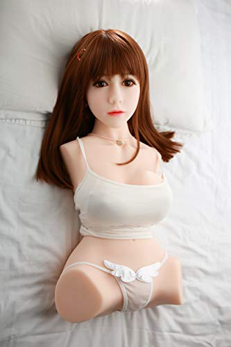 3D Toys Doll Silicone for Men Made of TPE and Titanium Alloy MoiDol Real Sex Doll Woman Medium Skin Brown Eyes by Mandarin Duck (Image #3)