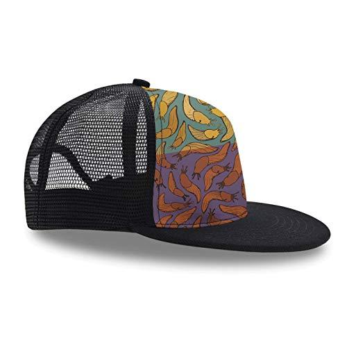 Hip Hop Cap,Banana Slug, Snapback Hat Unisex