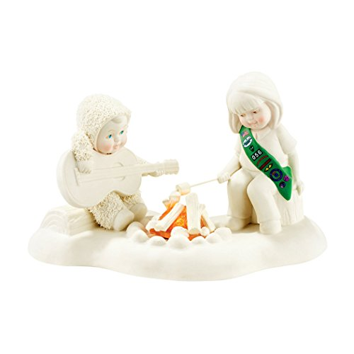 (Department 56 Snowbabies Girl Scout Campfire Friends Porcelain Figurine)