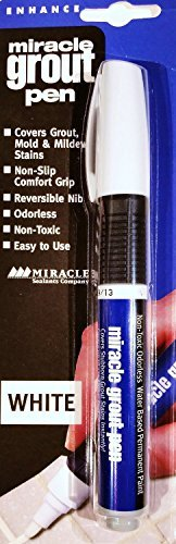 Miracle Grout Pen, White by Miracle Sealants