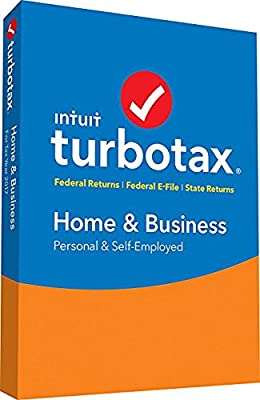 TurboTax Home & Business Tax Software 2017 Fed+Efile+State PC/MAC (SEALED IN DVD CASE) (Amazon Exclusive)