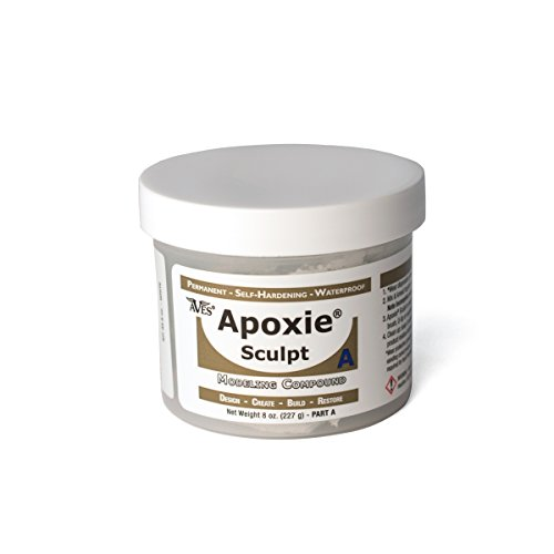 Apoxie Sculpt 1 lb. White, 2 part modeling compound (A & B)