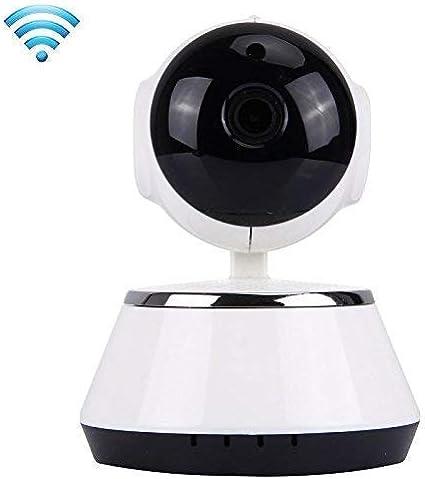 Sanbee Camaras de Seguridad WiFi IP HD - Cámara de Vigilancia 360° Domo Monitor V380 1280x720 con Visión Nocturna y Audio Bidireccional para la Segur