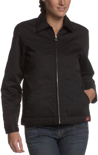 Womens Eisenhower Jacket - Dickies Women's Eisenhower Jacket, Black, Medium