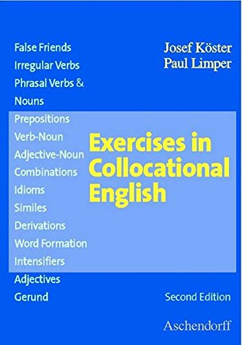 Exercises in Collocational English