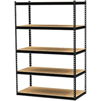 Gorilla Rack Grz6 4824 5pcb 48 By 24 By 72 Inch Shelving