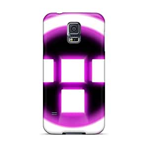 PhilHolmes Samsung Galaxy S5 Shock Absorbent Cell-phone Hard Covers Custom Stylish Rise Against Pattern [UWl1317rUKF]