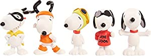 The Peanuts Movie DVD & Many Faces of Snoopy Minis Joe Cool / Flying Ace / Flashbeagle / the Masked Marvel by Fox Home Entertainment