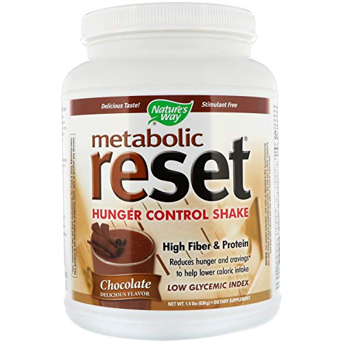 Nature's Way Metabolic Reset Shake Mix Chocolate - 1.4 lbs