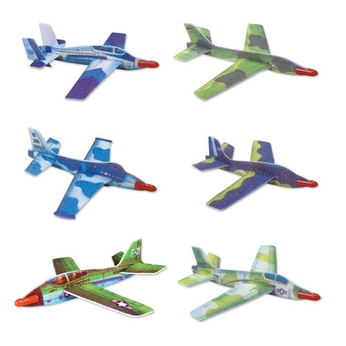 (Jet Fighter Gliders - 12 per)