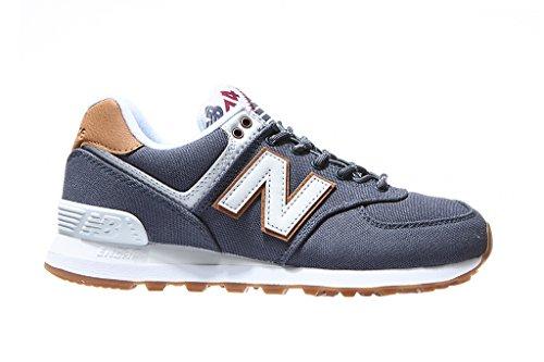 Blu Wl574v2 Pack Balance Donna Yatch Sneaker New aqY5gw
